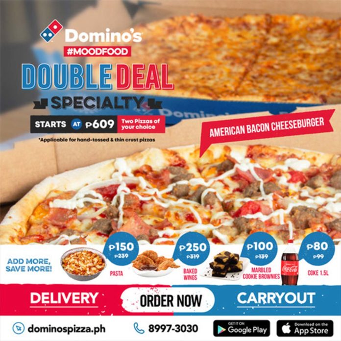 Domino's Pizza Double Deal - Food Finds Asia