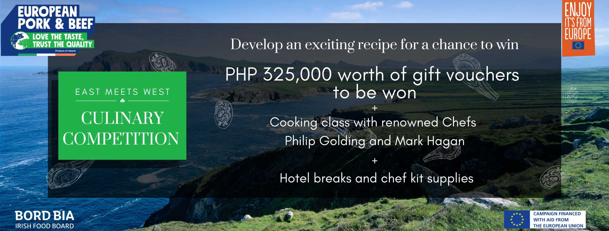 """""""East Meets West"""" Culinary Competition 2021"""